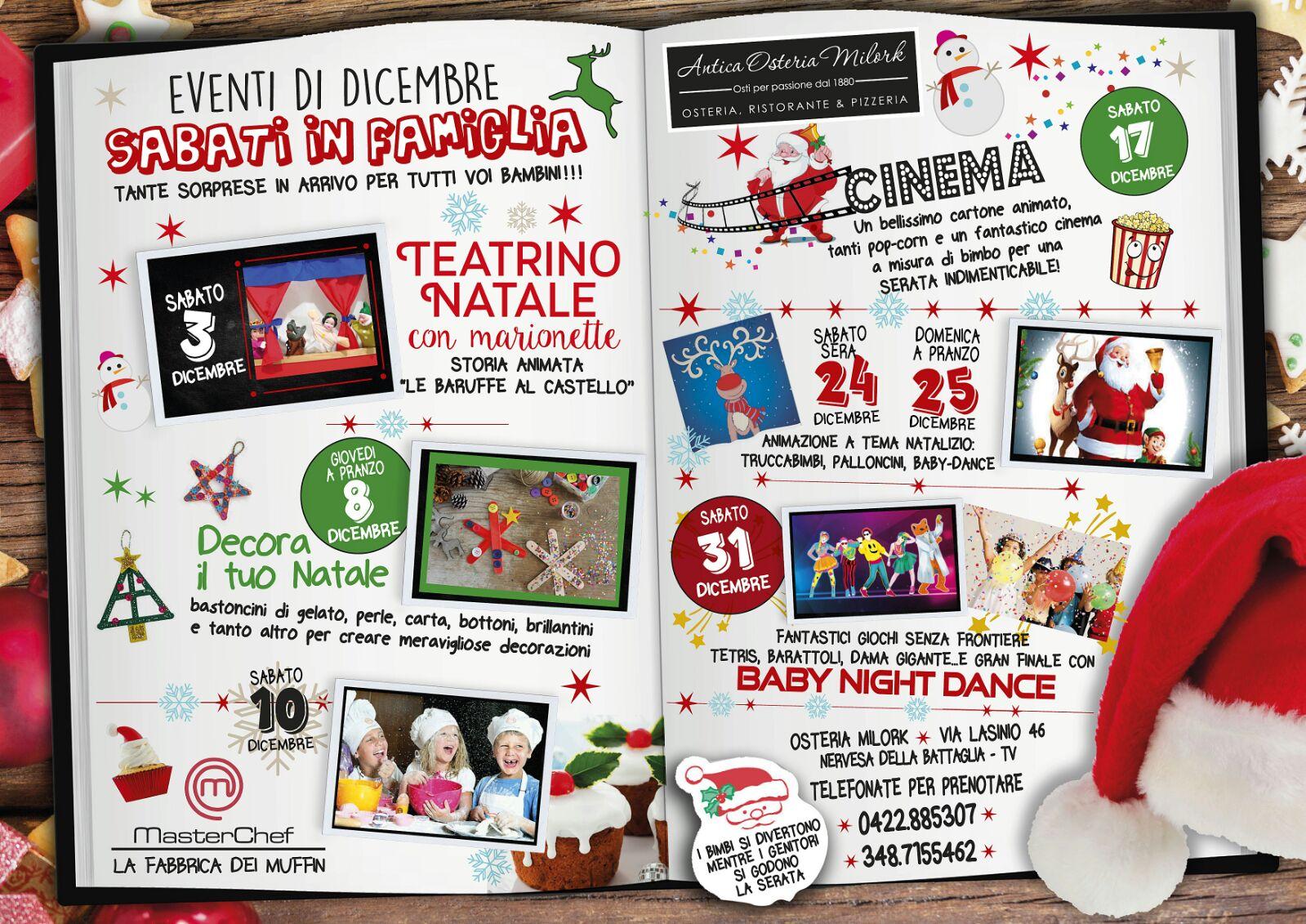eventi dicembre 2016